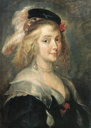 Portrait of Helena Fourment | Rubens | Gemälde Reproduktion