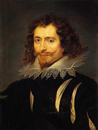 The Duke of Buckingham, c.1625 von Rubens | Gemälde-Reproduktion