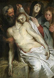Entombment (Lamentation of Christ), c.1618 von Rubens | Gemälde-Reproduktion