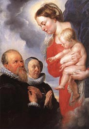 Virgin and Child, c.1604 von Rubens | Gemälde-Reproduktion