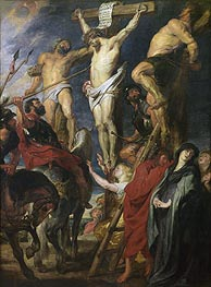 Christ on the Cross between the Two Thieves, 1620 von Rubens | Gemälde-Reproduktion