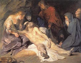 The Lamentation, 1614 von Rubens | Gemälde-Reproduktion