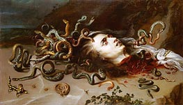 The Head of Medusa | Rubens | Painting Reproduction