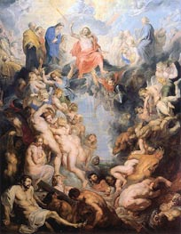 The Last Judgement, c.1615/16 von Rubens | Gemälde-Reproduktion