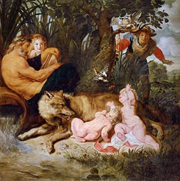 Romulus and Remus | Rubens | Painting Reproduction