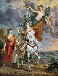 The Triumph of Juliers, 1st September 1610 (The Medici Cycle) | Rubens | Painting Reproduction