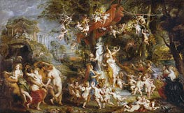The Festival of Venus Verticordia | Rubens | Painting Reproduction