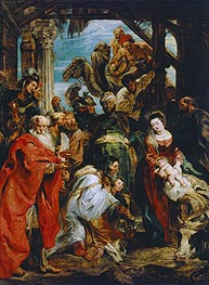 The Adoration of the Magi, 1626 by Rubens | Painting Reproduction