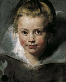 Portrait of Clara Serena Rubens | Rubens | Painting Reproduction