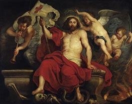 Christ Triumphant over Sin and Death | Rubens | Gemälde Reproduktion