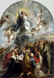 The Assumption of the Virgin | Rubens | Gemälde Reproduktion