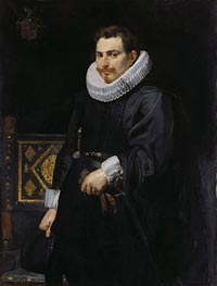 Portrait of Jan Vermoelen | Rubens | Painting Reproduction