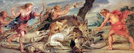 The Hunt of Meleager and Atalanta | Rubens | Gemälde Reproduktion
