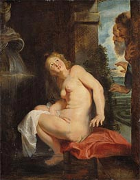 Susanna and the Elders | Rubens | Gemälde Reproduktion