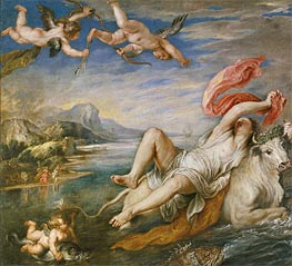 The Rape of Europa | Rubens | Painting Reproduction