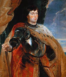 Charles the Bold of Burgundy | Rubens | Gemälde Reproduktion