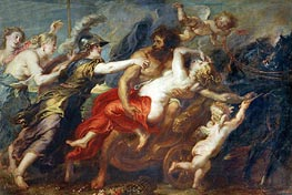 The Rape of Proserpina, c.1636/38 by Rubens | Painting Reproduction