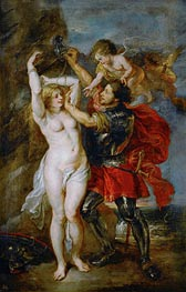 Perseus Freeing Andromeda, c.1641/42 by Rubens | Painting Reproduction