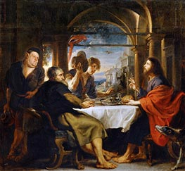 The Dinner at Emmaus | Rubens | Painting Reproduction