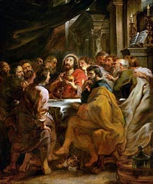 Last Supper | Rubens | Gemälde Reproduktion