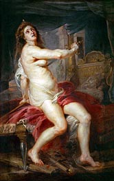 The Death of Dido, undated by Rubens | Painting Reproduction