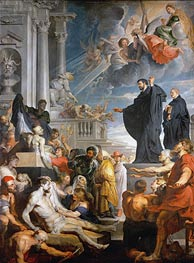 The Miracles of Saint Francis Xavier | Rubens | Painting Reproduction