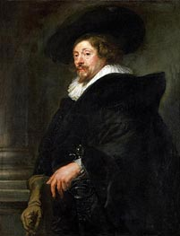 Peter Paul Rubens (Self-Portrait) | Rubens | Painting Reproduction