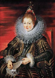 Infanta Isabella Clara Eugenia, Wife of Archduke Albrecht VII | Rubens | Painting Reproduction