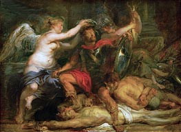 Coronation of the Victor, 1630 by Rubens | Painting Reproduction