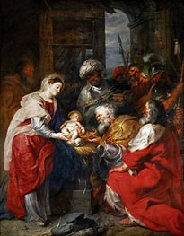 The Adoration of the Magi | Rubens | Gemälde Reproduktion