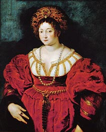 Isabella d'Este (after Titian), c.1605 by Rubens | Painting Reproduction