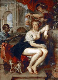 Bathsheba at the Fountain | Rubens | Painting Reproduction