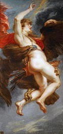 The Rape of Ganymede | Rubens | Painting Reproduction