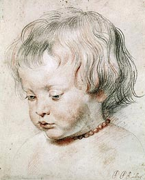 Portrait of Artist Son Nicolas | Rubens | Painting Reproduction