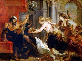 The Banquet of Tereus | Rubens | Painting Reproduction