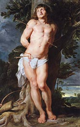 Saint Sebastian, c.1618 by Rubens | Painting Reproduction