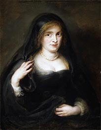 Portrait of a Woman (Susanna Lunden), undated by Rubens | Painting Reproduction