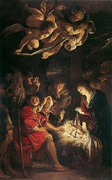 Adoration of the Shepherds | Rubens | Gemälde Reproduktion
