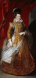 Johanna, Archduchess of Austria, Grand Duchess of Tuscany | Rubens | Gemälde Reproduktion