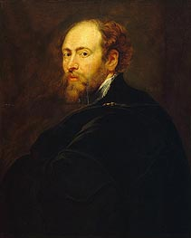 Self Portrait | Rubens | Painting Reproduction