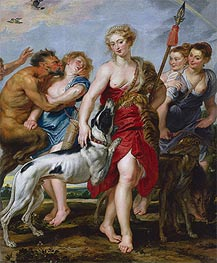 Diana and Her Nymphs Departing for the Hunt | Rubens | Gemälde Reproduktion