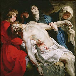 The Entombment | Rubens | Painting Reproduction
