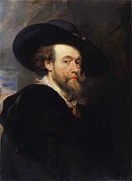 Portrait of the Artist | Rubens | Gemälde Reproduktion