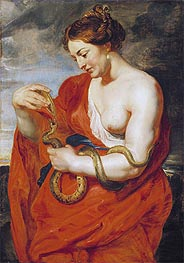 Hygeia, Goddess of Health, c.1615 von Rubens | Gemälde-Reproduktion