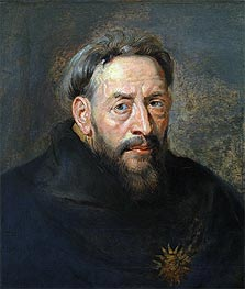 Portrait of a Monk | Rubens | Painting Reproduction