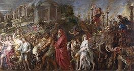 A Roman Triumph | Rubens | Painting Reproduction