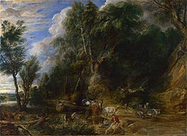 The Watering Place | Rubens | Gemälde Reproduktion