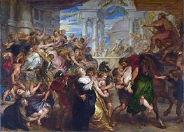 The Rape of the Sabine Women | Rubens | Gemälde Reproduktion