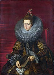 Portrait of the Infanta Isabella | Rubens | Painting Reproduction