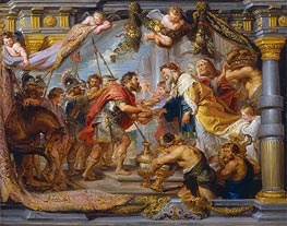 The Meeting of Abraham and Melchizedek | Rubens | Gemälde Reproduktion